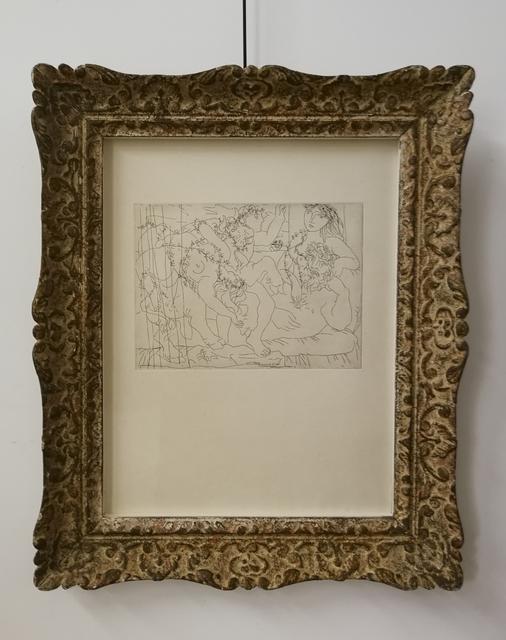 , 'Le Repos du Sculpteur, Plate 56 from La Suite Vollard (B. 165; Ba. 318),' 1933, Galerie Calderone
