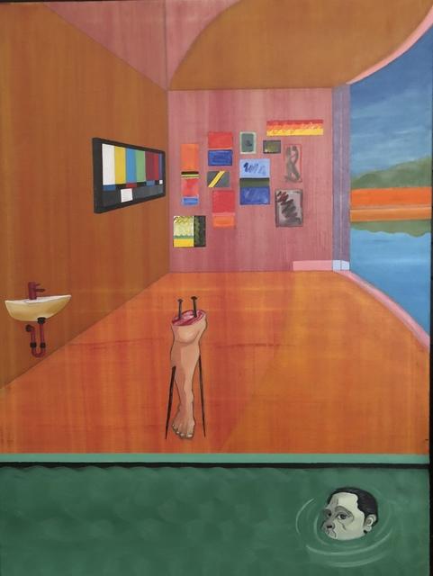 , 'The Red Studio 1,' 2018, Imlay Gallery