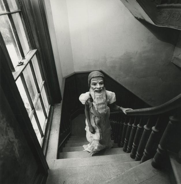 Arthur Tress, 'Girl in Mask', 1975, Morehouse Gallery