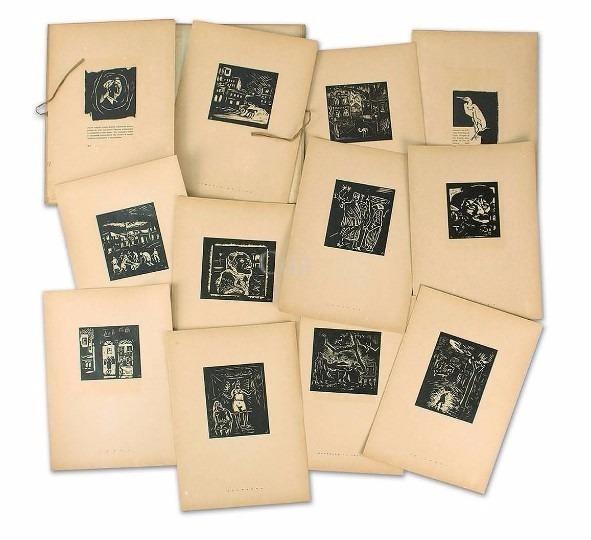 , '10 Gravuras Em Madeira de Oswaldo Goeldi,' 1931, Bergamin & Gomide