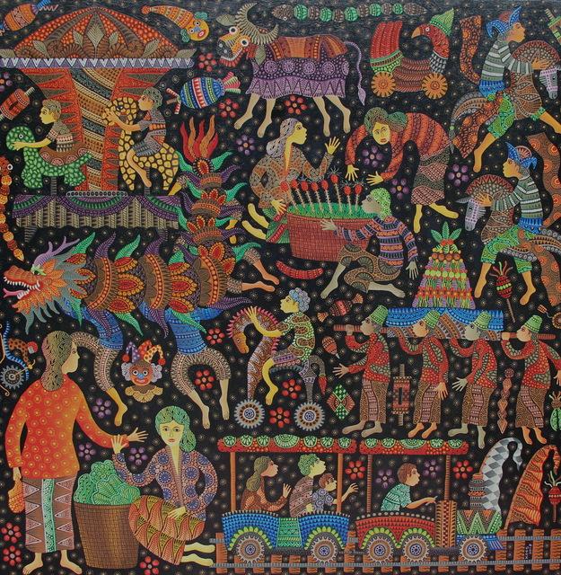 Kusbudiyanto, 'Pasar Malam ', 2018, galerie bruno massa