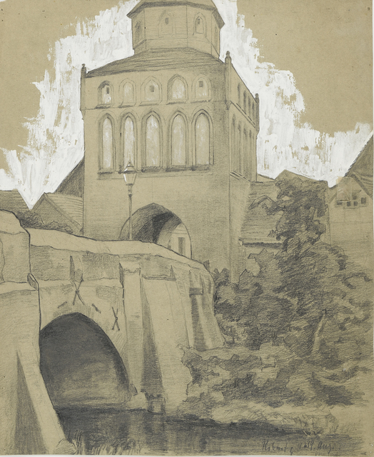 , 'Ribnitz (Town Gate),' 1905, Moeller Fine Art