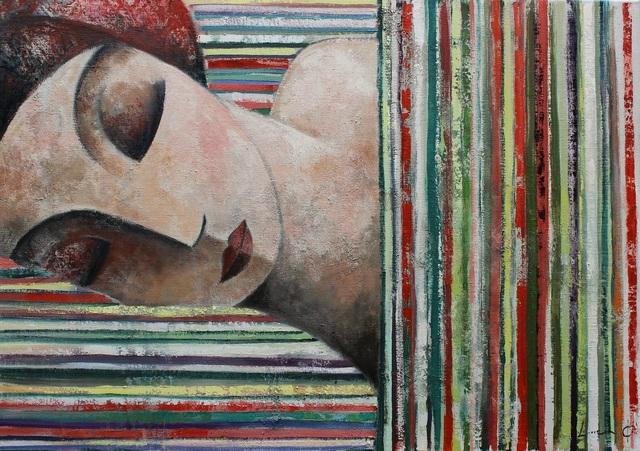 , 'Dormint entre línies,' 2015, GALERIA JORDI BARNADAS