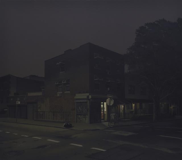 Yongjae Kim, 'A closing Store ', 2018, Painting, Resin oil on linen, George Billis Gallery