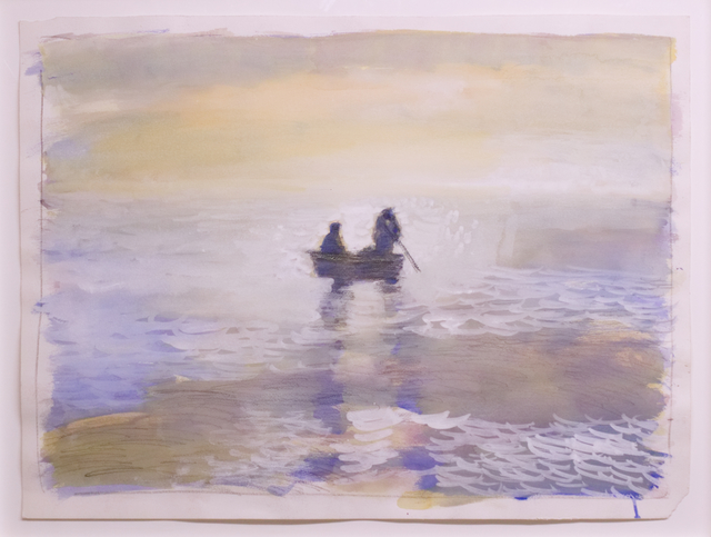, 'Untitled (seascape with rowboat),' 1987, Mai 36 Galerie
