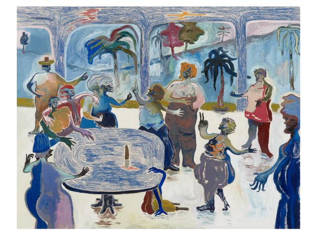 , 'Geschwätz trotz Fachwissen,' 2018, Setareh Gallery