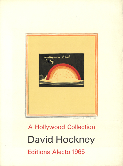 David Hockney, 'Hollywood Bowl', 1965, ArtWise