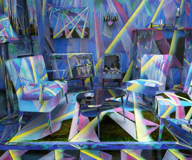 , 'Giacomo Balla 50's Living Room,' 2013, Feuer/Mesler