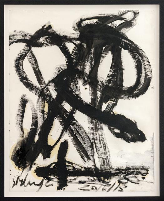 , 'Schlangen,' 2018, Hans Alf Gallery
