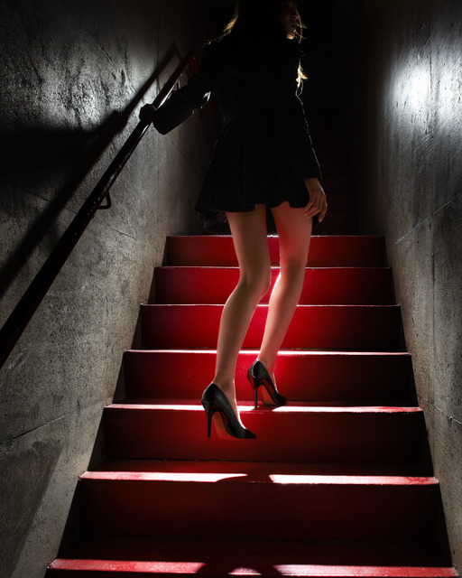 , 'Girl on the Red Steps,' 2012, Contessa Gallery