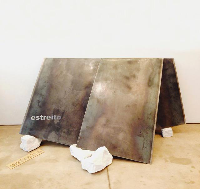 , 'Tectonics: Strait,' 2014, Galeria Raquel Arnaud