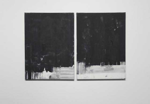 , 'Pasaporte detail (barcode diptych),' 2014, Josée Bienvenu