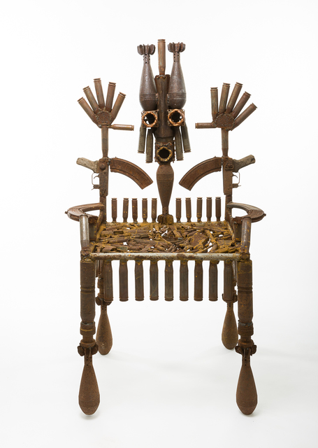 , 'The Throne of the Mandated,' 2016, Jack Bell Gallery