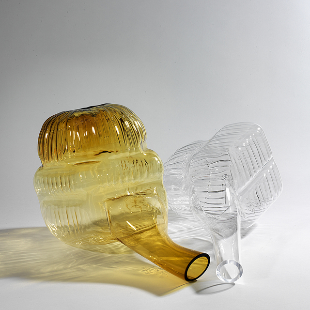 , 'Amber Transparent Pair,' 2013, Marion Friedmann
