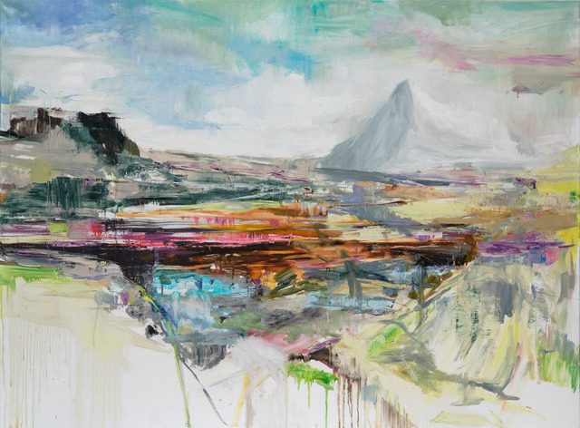 , 'La montange enneigée,' 2018, Dolby Chadwick Gallery