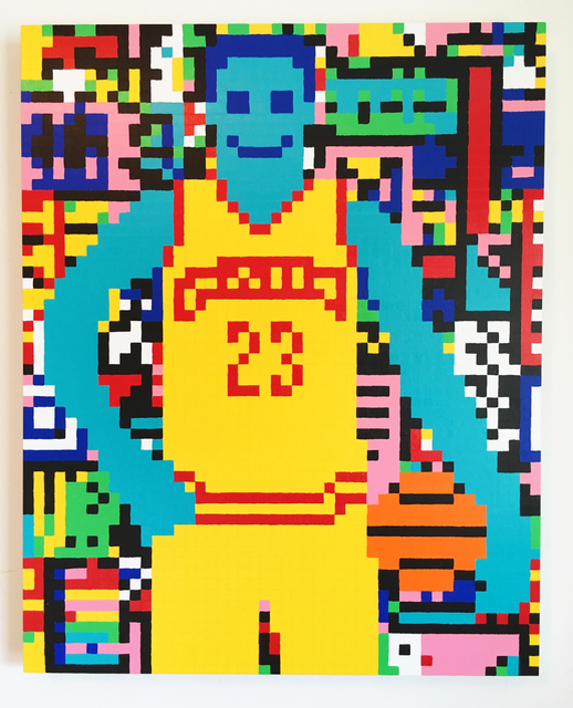 , 'LeBron James,' 2017, ODETTA