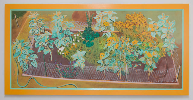 , 'Sunflower Bed,' 1991, Quint Gallery