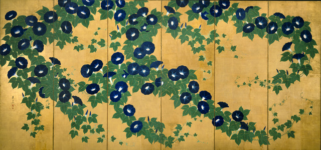 , 'Morning Glories,' Early 19th century, The Metropolitan Museum of Art