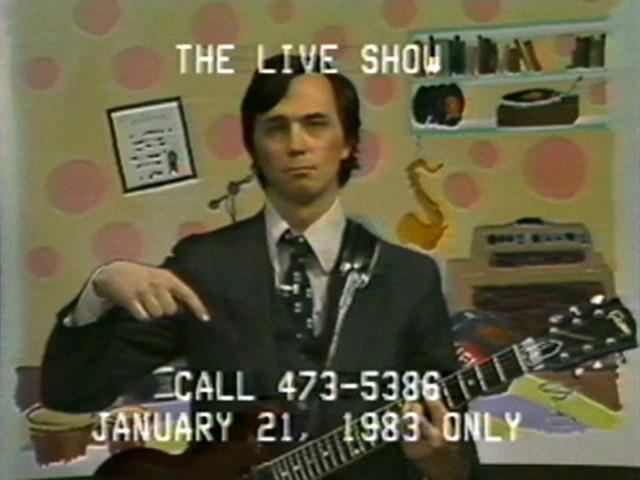 Jaime Davidovich, 'The Live! Show (January 21, 1983)', 1983, Electronic Arts Intermix (EAI)