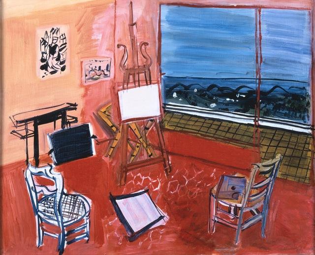 Raoul Dufy, 'Artist's Studio in Vence', ARS/Art Resource
