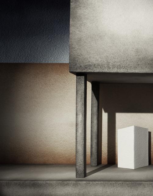 , 'Studio per un'Annunciazione (Piero della Francesca),' 2016, Antonia Jannone Disegni di Architettura