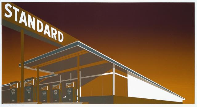 Ed Ruscha, 'Mocha Standard Station', 1969, Upsilon Gallery