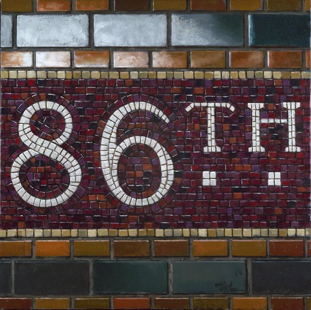 , '86th St. - Mosaic,' 2011, Gallery Henoch