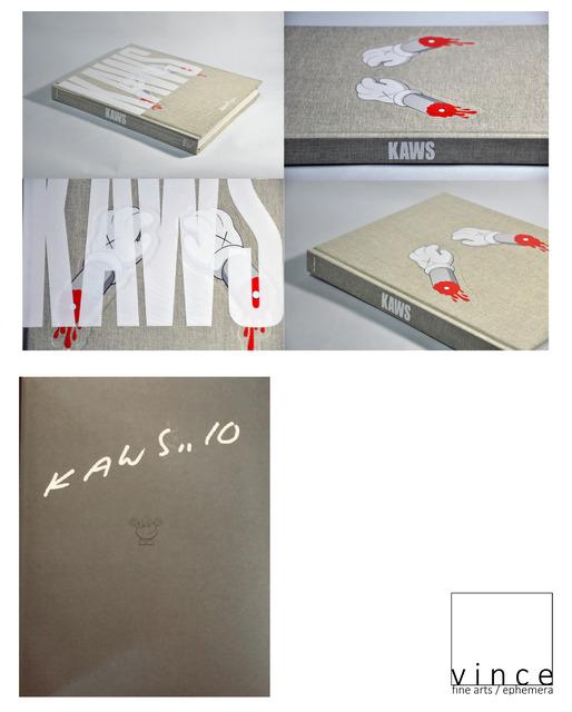 "KAWS, '""KAWS...10"", Signed/Dated, 2010, First Edition, Rizzoli', 2010, VINCE fine arts/ephemera"