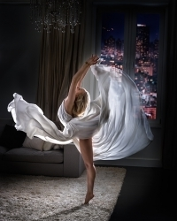 David Drebin, 'White Night', Onessimo Fine Art