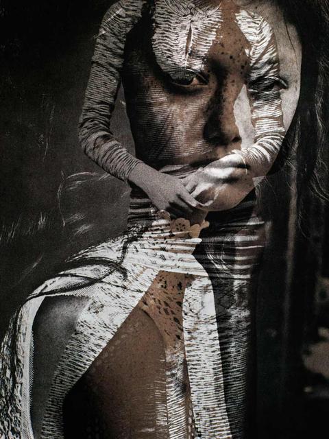 , 'Sepia Face,' , Chicago Art Source