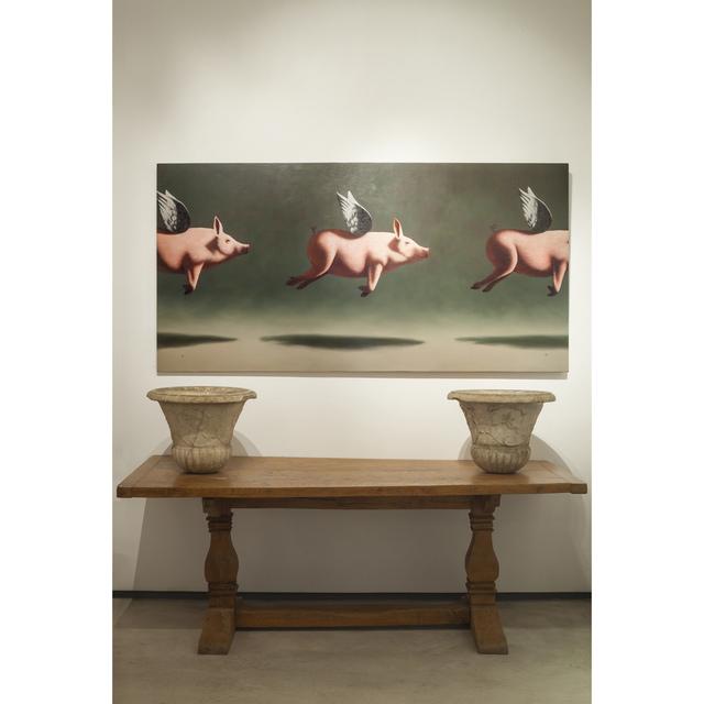 , 'Sus Scrofa Voluter II,' 2015, Galería Marita Segovia