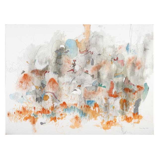 , 'Orange Blue Kind of Subtle,' 2017, Jen Mauldin Gallery