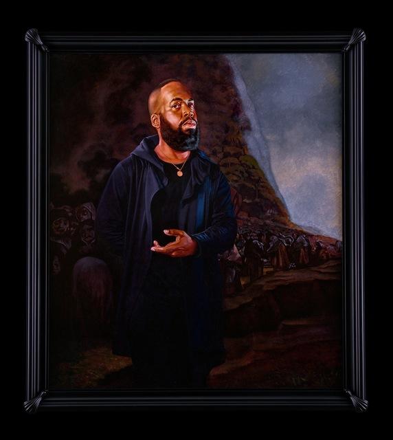 , 'Portrait of Derrick Adams, El Santo Oficio,' 2017, Sean Kelly Gallery