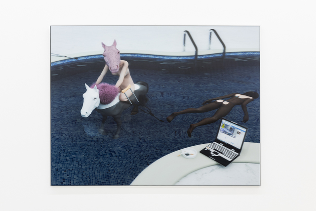 , 'Swimming pool,' 2017, Annka Kultys Gallery
