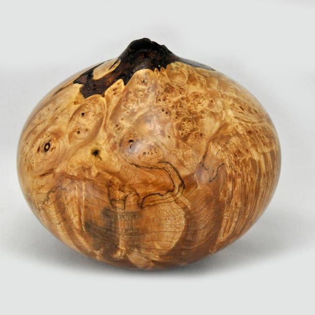 , 'Natural Edge Maple Vessel,' 2018, Wood Symphony Gallery