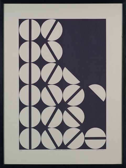 Antônio Maluf, 'Unidade Partida', 1970-1980, Print, Serigraphy, LAART