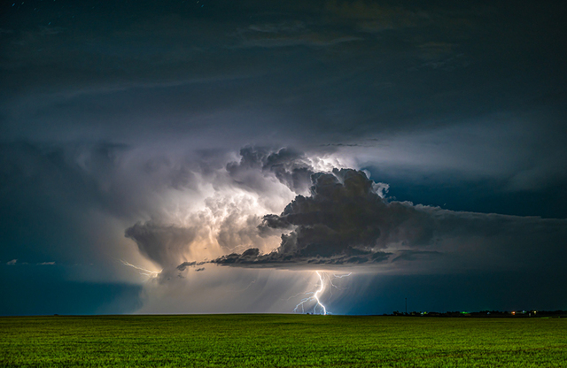 Jeremy Janus, 'Lightning on the Eastern Plains', 2020, Photography, Metal, Dab Art
