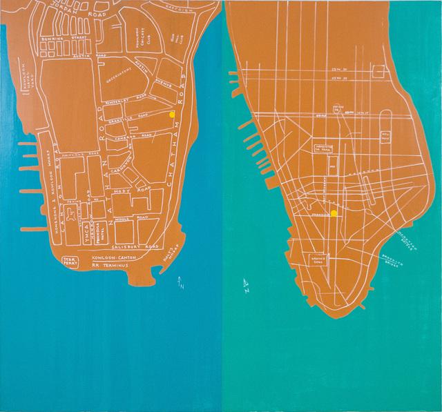 , 'Kowloon & Manhattan,' 2014, Eslite Gallery