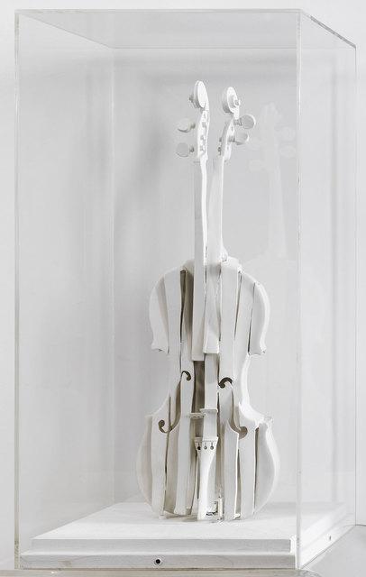 Arman, 'Violon Découpé Blanc', 1987, Galerie Kellermann