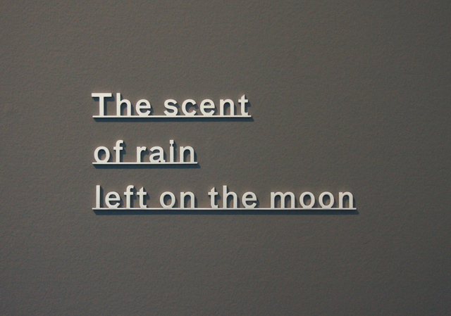, 'Ideas - (The scent of rain left on the moon),' 2018, Ingleby Gallery