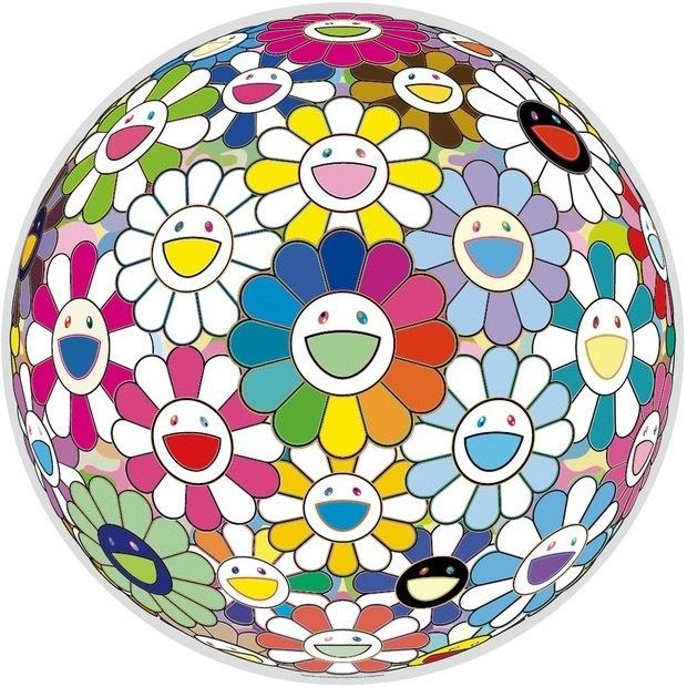 Takashi Murakami, 'Flower Ball: Want To Hold You', 2016, MSP Modern