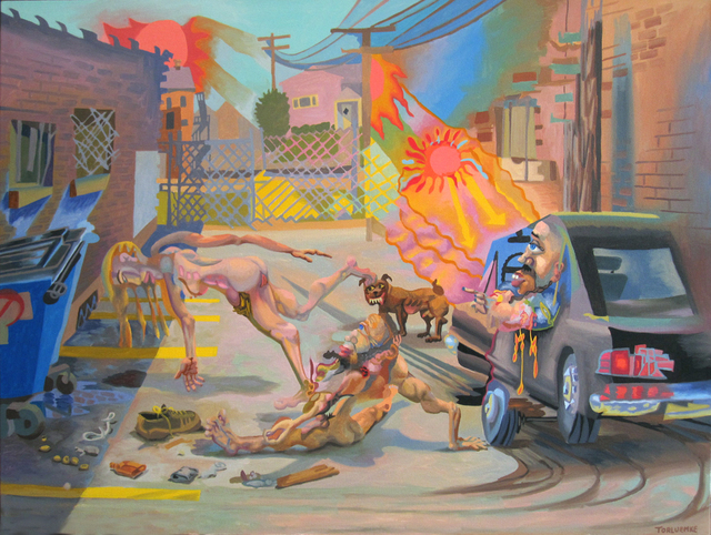 , 'Hot Summer In The City,' 2010, Linda Warren Projects