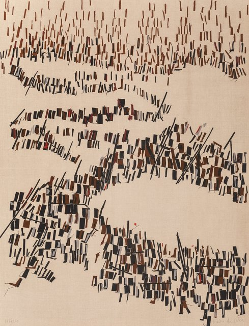 Maria Helena Vieira da Silva, 'Untitled, from Flight Portfolio', 1967, Print, Lithograph in colors on paper, Heritage Auctions