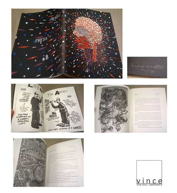 "Fred Tomaselli, '""Pierogi Press #8"", Signed Silkscreen Edition of 750 ', 2002, VINCE fine arts/ephemera"