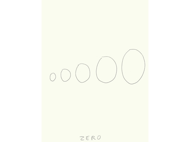 , 'Zéro (1),' 2009, Galerie Laurent Godin