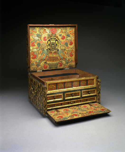 , 'Portable Writing Desk,' 1684, Museum of Fine Arts, Boston