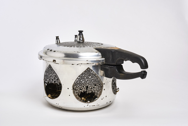 , 'Pressure Cooker #2,' 2016, Haines Gallery