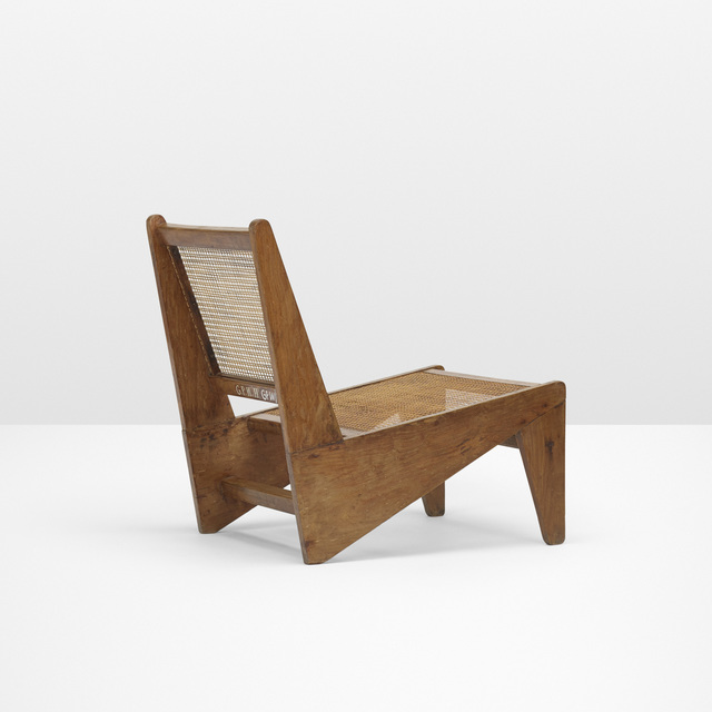 Pierre Jeanneret, 'Kangourou lounge chair from Chandigarh', c. 1955, Wright