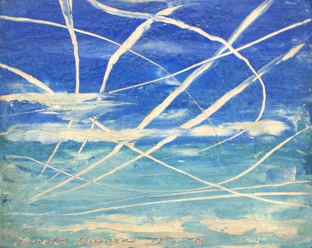 , 'Jet Sky Patterns, Calais, VT,' 1956, Richard Norton Gallery