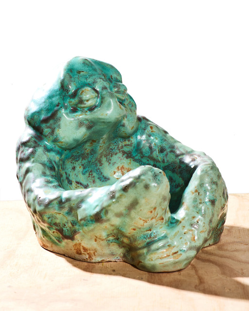 Jean Désiré Ringel d'Illzach, 'Seated Frog Bowl', Jason Jacques Gallery
